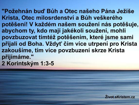 Požehnán buď Bůh a Otec našeho Pána Ježíše Krista