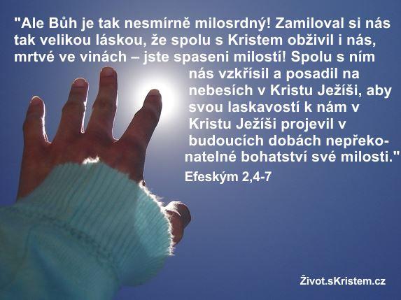 Bůh je nesmírně milosrdný!