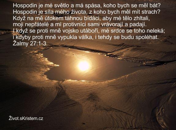 Hospodin je mé světlo a má spása
