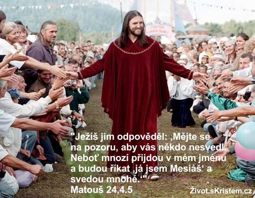 Pozor na falešné Mesiáše!