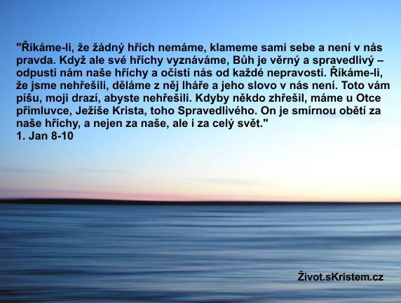Každý člověk je hříšný!
