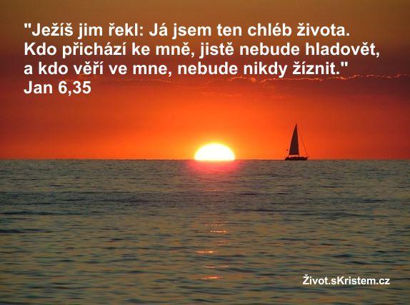 Ježíš: Kdo věří ve mne, nebude nikdy žíznit