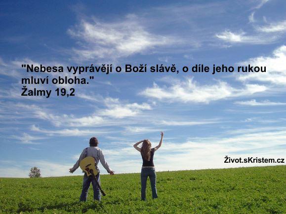 Nebesa vyprávějí o Boží slávě